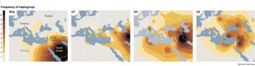 DNA Etruschi origini Anatlia Troia